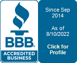 Homes Roofing Homes LLC is a BBB Accredited Roofer in Raleigh, NC